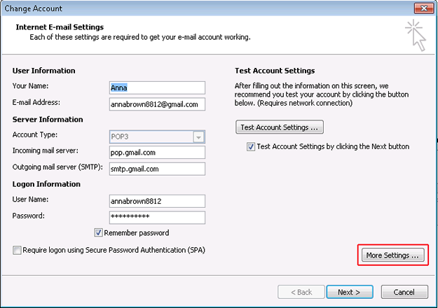 Step3: To resolve Outlook error 0x8004210a