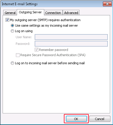 Step5: To resolve Outlook error 0x8004210a